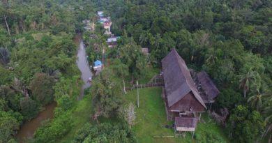 Rumah Betang Tertua, Rumah Betang Tumbang Gagu